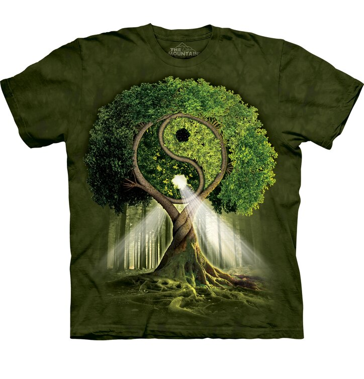 Yin Yang Tree Child