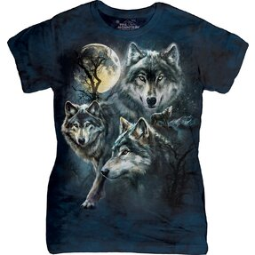 Moon Wolves Collage T Shirt