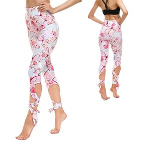 Fittnes leggings kötéssel Soft Butterfly