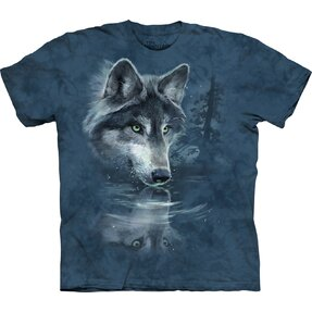 Wolf Reflection Child